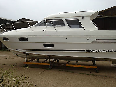 Motor Boat Bm34 Continental Broom Haines Boats For