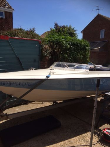 Speedboat Picton Driver 440. 70hp. Eviude Engine.   Boats For Sale UK