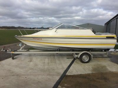 Newly Refurbished Boat Trailer And Bayliner Cuddy Sports, Fishing