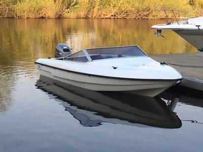 Fletcher 16 Speedboat 40hp Mariner Outboard Electric Start Trailer
